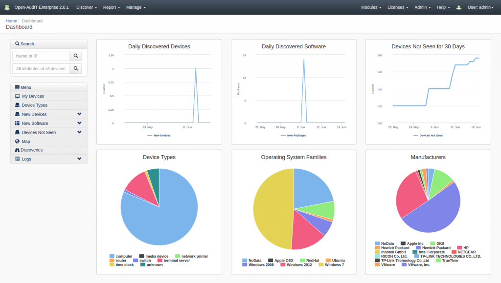 open-audit_dashboards