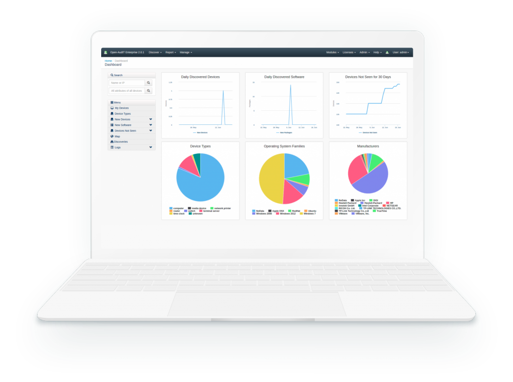 Network Discovery And Inventory Software Open Audit Opmantek