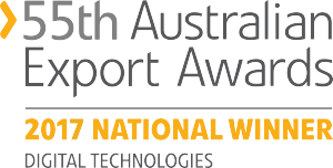 55th Australian Export Awards National Winner - Digital Technologies