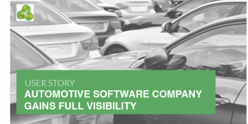 AUTOMOTIVE SOFTWARE COMPANY GAINS FULL VISIBILITY