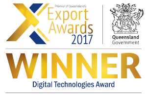 2017 Queensland Export Awards Winner - Digital Technologies Award