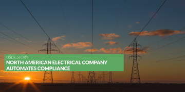 North American energy Company automates compliance